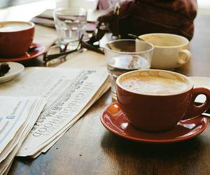 coffee, vintage, and morning image