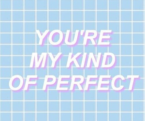 pastel, quote, and blue image
