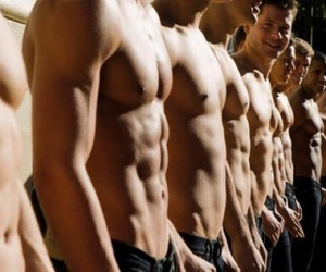 abs, body, and boys image
