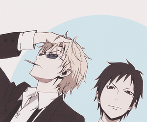 durarara, anime, and izaya orihara image