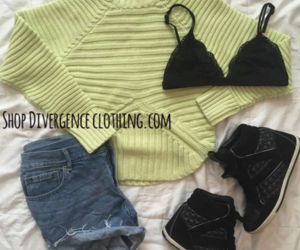 Balmain, black, and bra image
