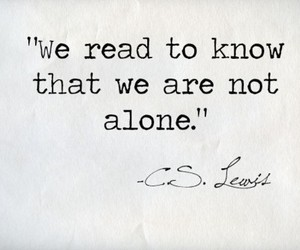 book, quotes, and alone image