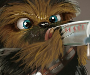 baby, chewbacca, and star wars image