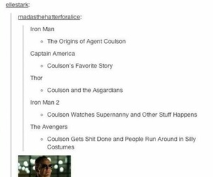 badass, Marvel, and the avengers image