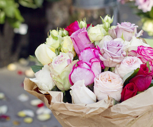 flower and roses image
