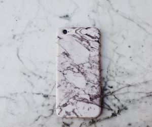case, marble, and iphone image