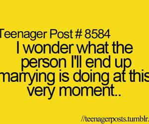 marry and teenager post image