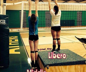 middle, volley, and volleyball image