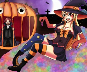 Halloween, happy, and fairy tail image