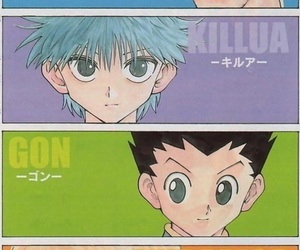 anime and hunter x hunter image