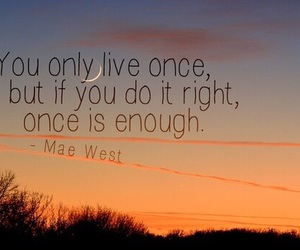 quote, yolo, and life image