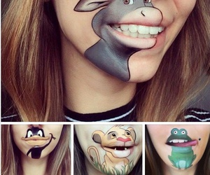 looney toons, maquillaje, and sapo image