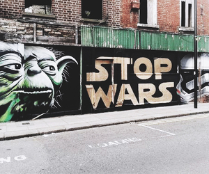 star wars, stop, and war image