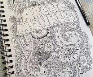 arctic monkeys, art, and drawing image