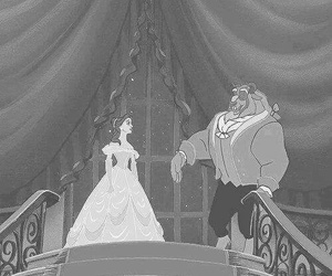 disney, beauty and the beast, and gif image