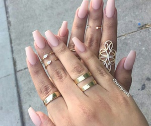 glam, nails, and pretty image