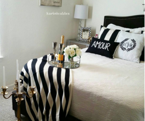 apartment, bedroom, and black&white image