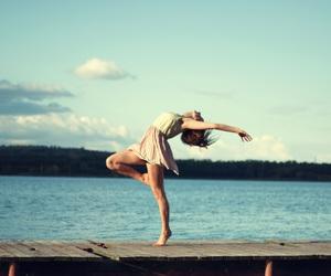 brunette, dance, and dancer image