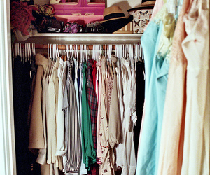 closet, clothing, and model image