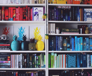 book, colors, and inspiration image