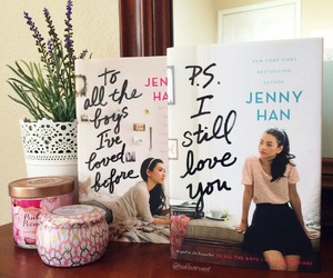 books, p.s. i still love you, and jenny han image