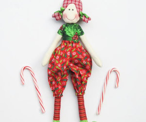 cloth doll, etsy, and rag doll image