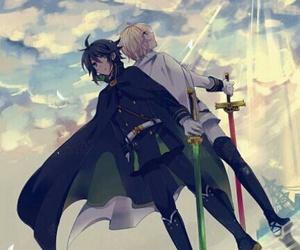 owari no seraph, anime, and yuichiro hyakuya image