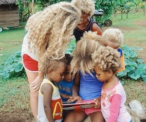 african culture, african beauty, and blonde hair image
