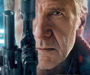 star wars, the force awakens, and han solo image