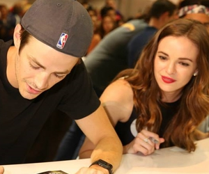 danielle panabaker, barry allen, and the flash image