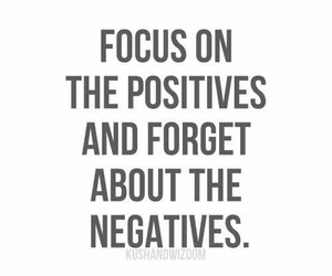 focus, forget, and negatives image