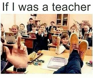 teacher, funny, and me image