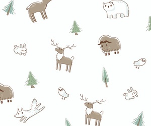 pattern, animals, and wallpaper image