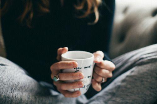 calm, love, and coffee image