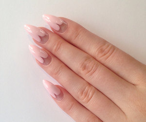 acrylic nails, etsy, and fake nails image
