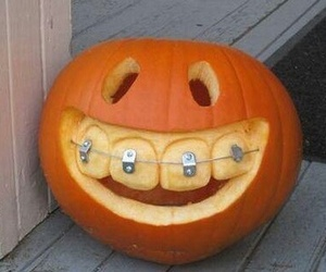Halloween, funny, and pumpkin image