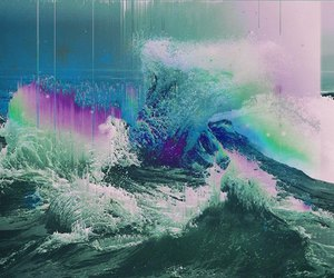 sea, art, and colors image
