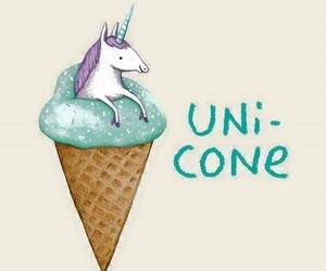 unicorn and ice cream image
