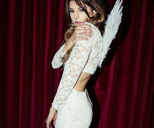 angel, fashion, and white image