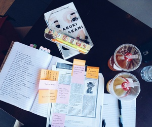 study, notes, and tumblr image