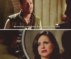 once upon a time, outlaw queen, and hero image