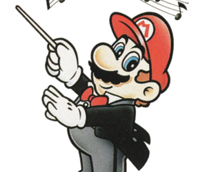 mario, nintendo, and music image