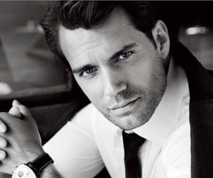 black and white, Henry Cavill, and hollywood image