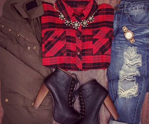 autumn outfit, fashion, and outfit image