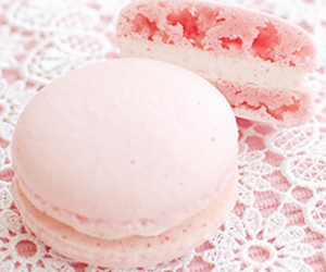 food, pink, and pale image