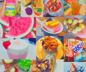 bright, colorful, and food image