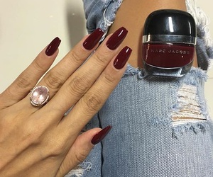 marcjacobs, ring, and nailpolish image