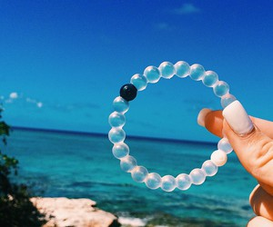 blue, bracelet, and style image