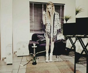 fashion, hookah, and legs image