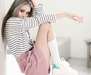 beauty, fashion, and kfashion image